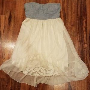 Rue 21 strapless summer dress size large.